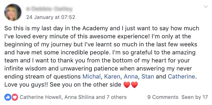Cat Howell – FB ads Academy 21