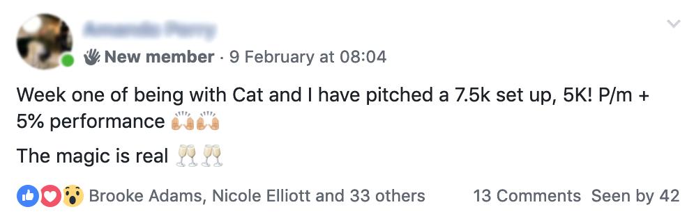 Cat Howell – FB ads Academy 8