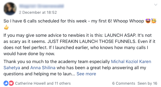 Cat Howell – FB ads Academy 42